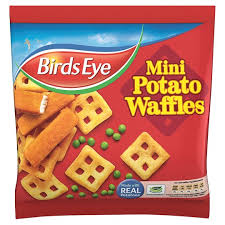 BIRDS EYE MINI WAFELS